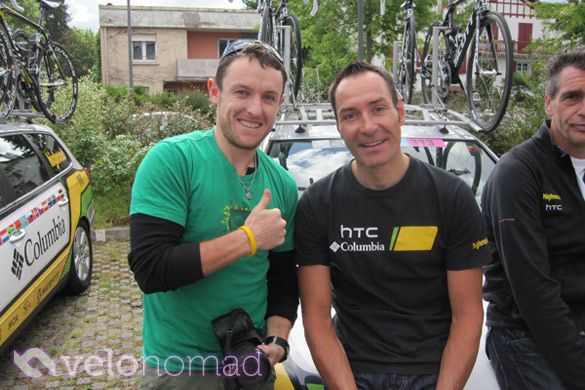 2010 Stage 18 TDF Results: image of Erik Zabel and Tim