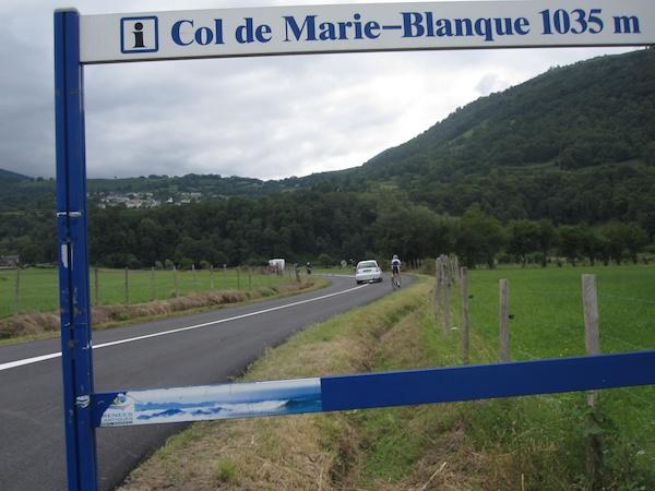 Col de Marie Blanque - Bielle approach