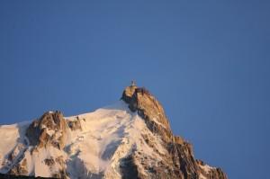 Sunset near Chamonix 2009