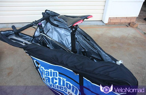 Chain Reaction Cycles Bike Bag Review image