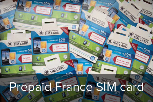 Prepaid France SIM